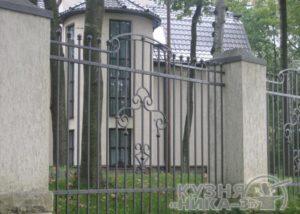 забор кованый в Тамбове на заказ