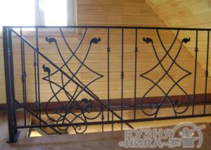 кованые перила для лестницы на заказ в Тамбове