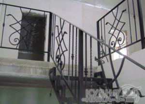 заказать кованые перила для лестницы в Тамбове