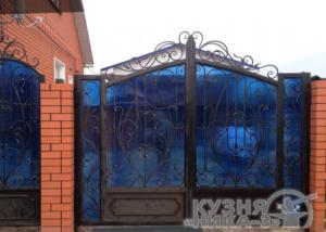 кованые ворота на заказ в Тамбове