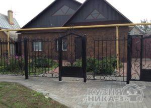 кованый забор на заказ в Тамбове